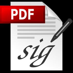 PDF Digital Signature