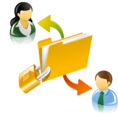 Secure Document Sharing ct person